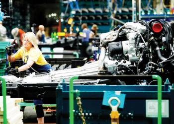 نشاط المصانع الأمريكية يكتسب وتيرة اسرع خلال مايو