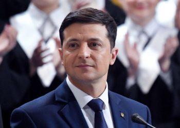 االرئيس فلاديمير زيلينسكي