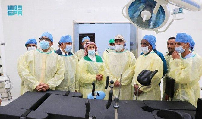 السعودية تدشن منشأة صحية في المهرة