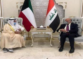وزير الخارجية العراقي يجري محادثات مع الكويت لتطوير التعاون المشترك