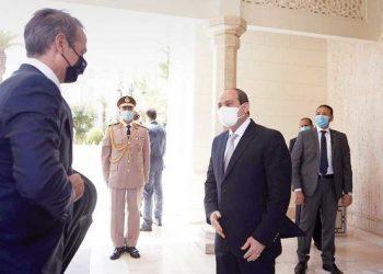 الزعيم المصري يدعم رئيس الوزراء اليوناني في قضايا شرق المتوسط