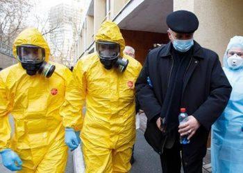 أوكرانيا تسجل 745 حالة إصابة بفيروس كورونا