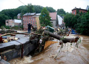 ارتفاع عدد ضحايا الفيضانات في بلجيكا