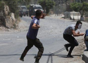 اشتباكات في الضفة الغربية-وإصابة 270 فلسطينيا