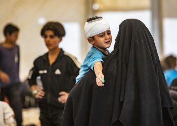 بلجيكا تعيد ست أمهات و 10 أطفال من سوريا
