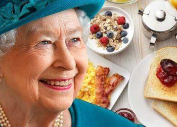 نحن نأكل بشكل ملكي (ما تأكله إليزابيث للبقاء بصحة جيدة)
