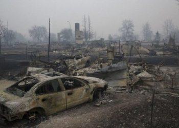 كندا ستنشر الجيش لمكافحة حرائق الغابات