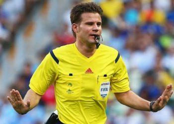 الألماني بريش سيحكم في المباراة بين أوكرانيا وإنجلترا