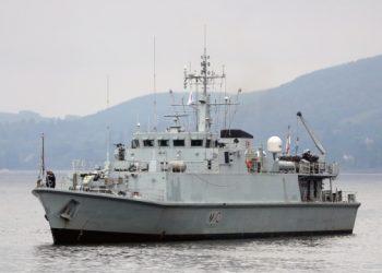 أوكرانيا تستقبل سفينتين من طراز سانداون من بريطانيا