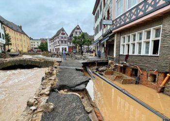 العثور على مئات الكيلوجرامات من ذخيرة الحرب العالمية الثانية في ألمانيا بعد الفيضانات