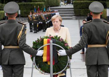 المستشارة الألمانية انجيلا ميركل تصل إلى أوكرانيا اليوم