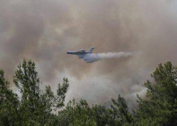 تحطم طائرة إطفاء حرائق في تركيا