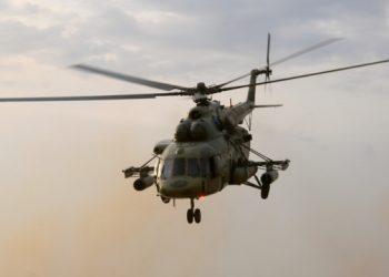 تحطم طائرة هليكوبتر تحت بحيرة في روسيا