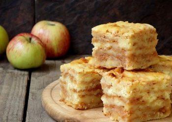 فطيرة التفاح البلغارية الفريدة