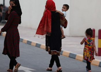 قطر تستقبل لاجئين أفغان في مجمع فلل مؤقتا