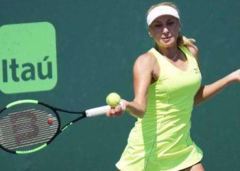 وصلت ليودميلا إلى الدور نصف النهائي من بطولة اتحاد لاعبات التنس المحترفات في شيكاغو