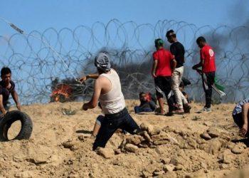 استشهاد فلسطيني في اشتباكات مع الجيش الإسرائيلي