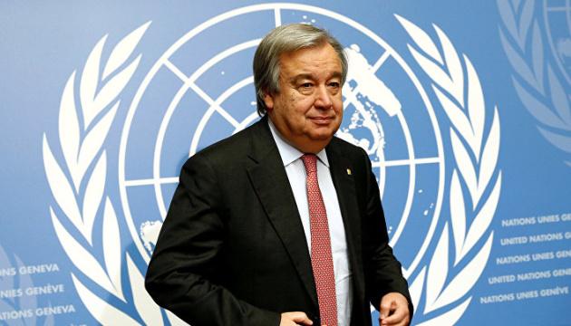 الأمين العام للأمم المتحدة يحذر من كارثة مناخية