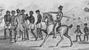 التاريخ المظلم لأمريكا يظهر بدفع الهايتيين بالخيول على الحدود.