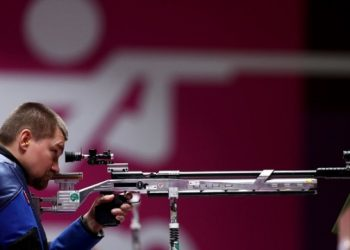 المنافس الأوكراني كوفالتشوك يحصل على الميدالية الفضية في إطلاق النار بدورة الألعاب البارالمبية
