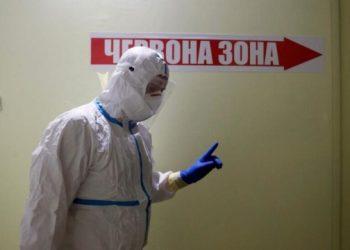 تجاوز معدل الإصابة بـ COVID-19 في جميع مناطق أوكرانيا تقريبًا
