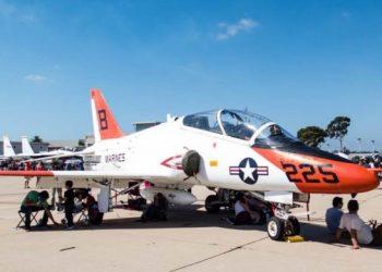 تحطم طائرة تدريب عسكرية في ولاية تكساس