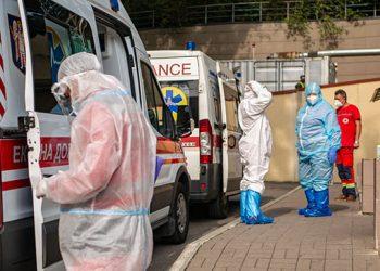 تسجيل 446 إصابة جديدة بفيروس كورونا في كييف.