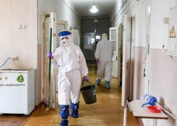 تسجيل 6234 حالة إصابة جديدة بفيروس كورونا في أوكرانيا