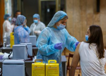 تطعيم أكثر من 37000 شخص ضد COVID-19 يوميًا في أوكرانيا