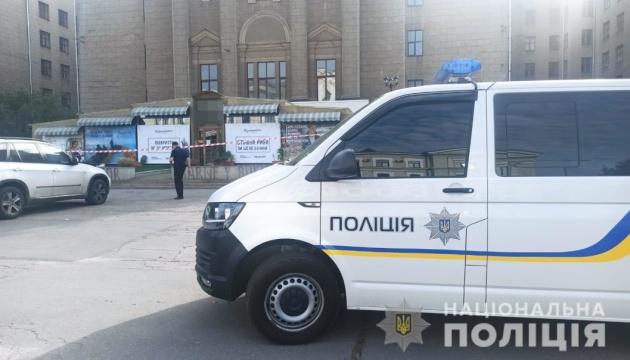 رجل يطلق النارعلى نفسه في مقهى في خاركيف وترك مذكرة موت