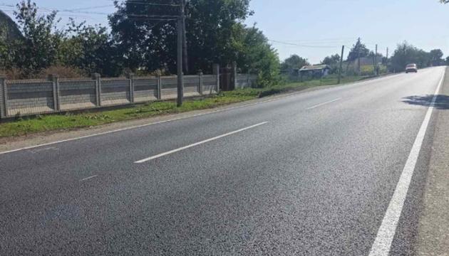 في أوديسا إصلاح جزء من الطريق المؤدي إلى فينيتسا بناء كبير