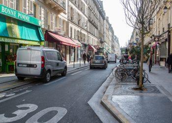 في باريس اقتصرت سرعة المرور على 30 كم في الساعة