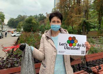 في يوم التنظيف العالمي جمع سكان كييف 500 متر مكعب من القمامة