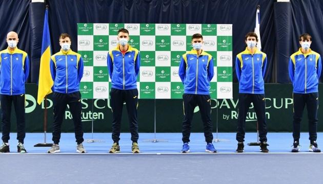 كأس ديفيس فريق التنس الوطني الأوكراني ضد النرويج في نوفمبر