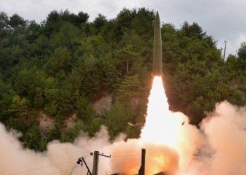 كوريا الشمالية تعلن عن اختبار ناجح لصاروخ تفوق سرعته سرعة الصوت