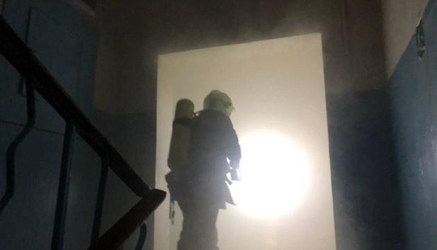 وفاة رجل في حريق في كييف