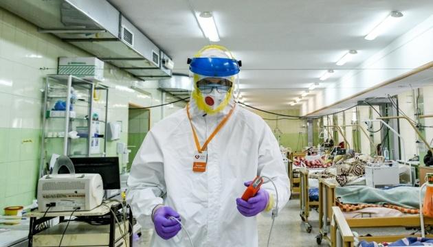 6754 حالة إصابة جديدة بفيروس كورونا في أوكراني