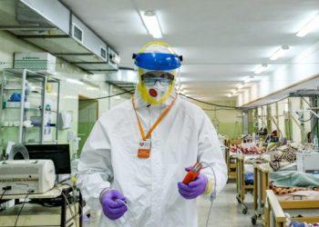 اكتشاف 4821 حالة إصابة جديدة بفيروس كورونا في أوكرانيا