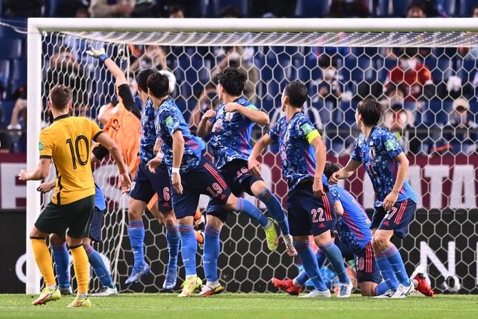 اليابان تفوز على أستراليا في تصفيات كأس العالم