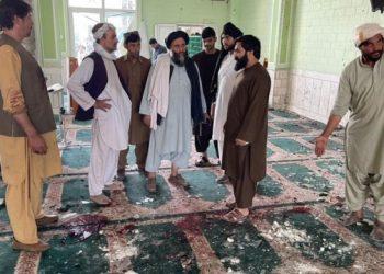 داعش يعلن  تبني المسؤولية عن عملية استهدفت مسجداً في أفغانستان