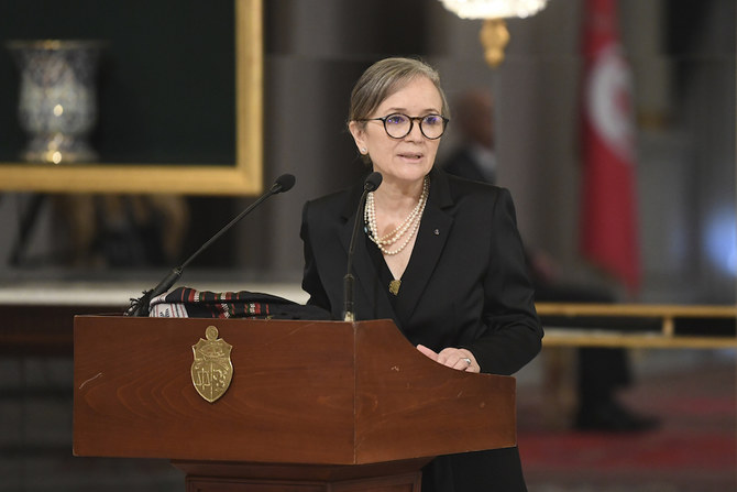 رئيسة الوزراء التونسية تقول ان تنفيذ الإصلاحات الاقتصادية على رأس أولويات الحكومة