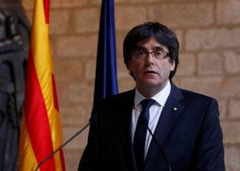 زعيم كاتالونيا السابق يعود إلى إيطاليا لمحاكمته وتسليمه.